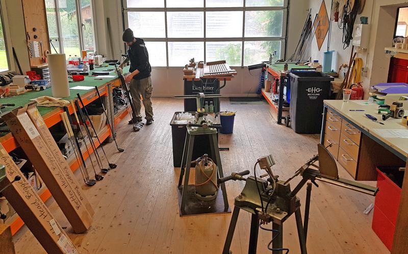 Golfschläger-Hersteller - Marken-Golf-Werkstatt